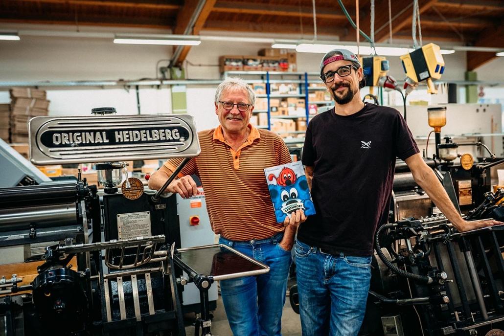 Heinz Späthling und Andi Fachtan