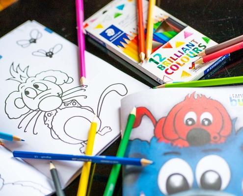 Bärenwort - Malbuch Set: Farben